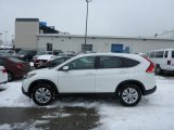 2013 White Diamond Pearl Honda CR-V EX AWD #76804460