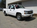 2006 Summit White Chevrolet Silverado 1500 LS Extended Cab 4x4 #7663187