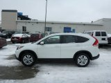 2013 White Diamond Pearl Honda CR-V EX-L AWD #76804457