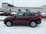 2013 Basque Red Pearl II Honda CR-V EX AWD #76804456