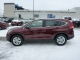 2013 Basque Red Pearl II Honda CR-V EX-L AWD #76804451