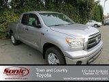2013 Silver Sky Metallic Toyota Tundra Double Cab 4x4 #76804319