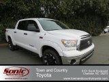 2013 Super White Toyota Tundra CrewMax 4x4 #76804318