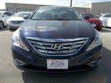 2013 Indigo Night Blue Hyundai Sonata SE #76803926