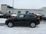 2013 Crystal Black Pearl Honda CR-V EX AWD #76804443