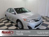 2013 Classic Silver Metallic Toyota Camry LE #76804302