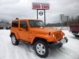 2012 Crush Orange Jeep Wrangler Sahara 4x4 #76804432