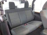 2012 Jeep Wrangler Sahara 4x4 Rear Seat