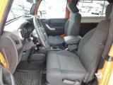 2012 Jeep Wrangler Sahara 4x4 Front Seat