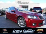 2009 Sport Red Metallic Pontiac G8 GXP #76803785