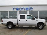 2004 Oxford White Ford F250 Super Duty XLT Crew Cab 4x4 #76804037