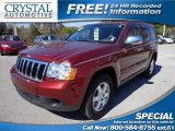 2008 Red Rock Crystal Pearl Jeep Grand Cherokee Laredo #76804424