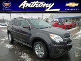 2013 Tungsten Metallic Chevrolet Equinox LT AWD #76804540