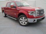 2013 Ruby Red Metallic Ford F150 Lariat SuperCrew #76773680