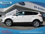 2013 White Platinum Metallic Tri-Coat Ford Escape SE 1.6L EcoBoost 4WD #76873596