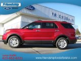 2013 Ruby Red Metallic Ford Explorer XLT 4WD #76873595