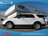2013 White Platinum Tri-Coat Ford Explorer XLT 4WD #76873594