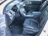 2013 Ford Explorer XLT 4WD Charcoal Black Interior