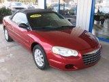 2005 Chrysler Sebring Inferno Red Crystal Pearl