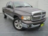 2003 Graphite Metallic Dodge Ram 1500 SLT Quad Cab #76873808