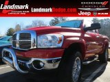 2006 Flame Red Dodge Ram 1500 SLT Regular Cab 4x4 #76873698