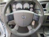 2008 Dodge Ram 1500 SXT Mega Cab Steering Wheel