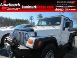 2006 Stone White Jeep Wrangler X 4x4 #76873689