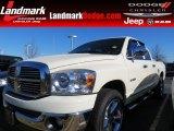 2008 Bright White Dodge Ram 1500 Lone Star Edition Quad Cab #76873683