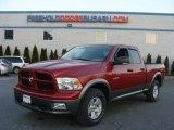 2010 Inferno Red Crystal Pearl Dodge Ram 1500 TRX4 Quad Cab 4x4 #76874241