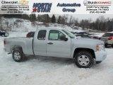 2013 Silver Ice Metallic Chevrolet Silverado 1500 LT Extended Cab 4x4 #76873778