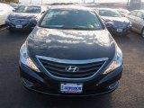 2013 Pacific Blue Pearl Hyundai Sonata GLS #76873542