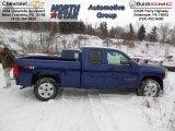 2013 Blue Topaz Metallic Chevrolet Silverado 1500 LT Extended Cab 4x4 #76873776
