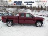 2013 Deep Ruby Metallic Chevrolet Silverado 1500 LT Extended Cab 4x4 #76873775