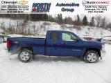 2013 Blue Topaz Metallic Chevrolet Silverado 1500 LT Extended Cab 4x4 #76873774