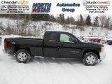 2013 Black Chevrolet Silverado 1500 LT Extended Cab 4x4 #76873773