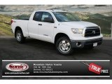 2013 Super White Toyota Tundra SR5 TRD Double Cab 4x4 #76873427