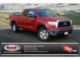 2013 Barcelona Red Metallic Toyota Tundra SR5 Double Cab 4x4 #76873426