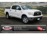 2013 Super White Toyota Tundra CrewMax 4x4 #76873424