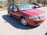 2007 Vivid Red Metallic Lincoln MKZ Sedan #76873879