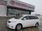2011 Super White Toyota Sienna LE #76873640