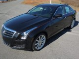 2013 Black Diamond Tricoat Cadillac ATS 2.5L Luxury #76874106