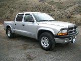 2004 Bright Silver Metallic Dodge Dakota Sport Quad Cab #76874205