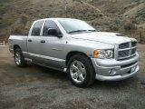 2005 Bright Silver Metallic Dodge Ram 1500 Sport Quad Cab #76874204