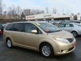 2011 Sandy Beach Metallic Toyota Sienna XLE #76873734
