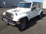 2013 Jeep Wrangler Unlimited Bright White