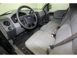 2005 Ford F150 STX SuperCab Medium Flint Grey Interior