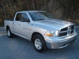 2012 Bright Silver Metallic Dodge Ram 1500 SLT Quad Cab 4x4 #76874186