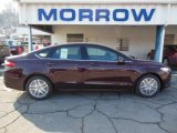 2013 Bordeaux Reserve Red Metallic Ford Fusion SE #76928810
