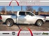 2010 Bright Silver Metallic Dodge Ram 1500 Big Horn Crew Cab 4x4 #76928691