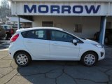 2013 Oxford White Ford Fiesta S Hatchback #76928809